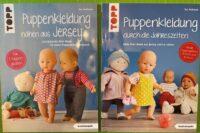 Puppenkleidung nähen aus Jersey/ durch die Jahreszeiten
