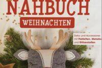 Glitzernähbuch Weihnachten