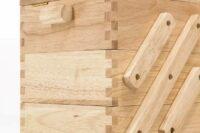 Nähkästen aus hellem Holz Prym