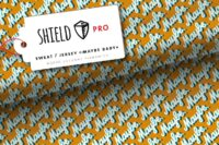 Albstoffe Shield Pro Jersey Maybe Baby senf
