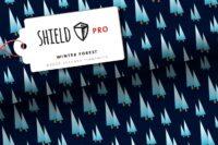 Albstoffe Shield Pro Winter Forest