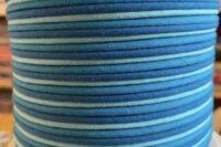Paspelband 3 farbig türkis