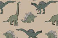Elvelyckan Designe Jersey Dino cappuccino