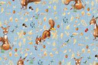 Lillestoff Herbsthörnchen