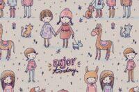 Lillestoff Enjoy today pastell