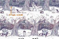 Lillestoff Winterwald aquarell Verlauf Summersweat