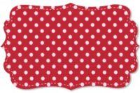 C. Pauli Popeline mittlere Punkte tango red