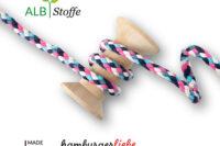 Albstoffe Korel Big Mix pink/blau
