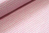 Stoffonkel Dotted line Jersey strawberry icecream