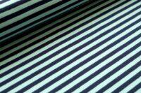 Stoffonkel Streifen Jersey aqua darkblue