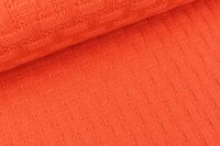 Albstoffe Woven Knitty luce rosso
