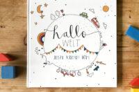 Kleinkindtagebuch- Hallo Welt- Jetzt komm ich