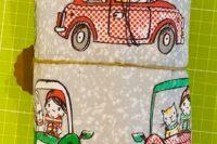 Lillestoff Weihnachts mööp mööp Summersweat 1m