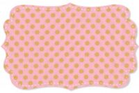 C. Pauli Popeline mittlere Punkte candy pink/ golden apricot