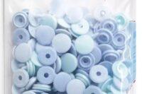Prym Color Snaps Mini 9mm 36Stk blau/ hellbalu/ türkis