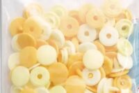 Prym Color Snaps Mini 9mm 36Stk gelb/ hellgelb/ perle