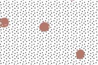 Lillestoff Waffle Dots terracotta Jersey