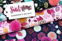 Albstoffe Gardeners Delight Jersey rosa