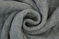 Albstoffe Woven Knitty hellgrau
