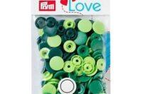 Prym Color Snaps 12,4mm 30 Stk grün