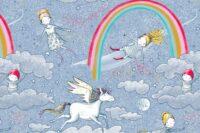 Lillestoff Am Ende des Regenbogens Webware