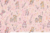 Lillestoff Susalabims Bienchen rosa Webware