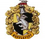 Aufnäher Harry Potter Hufflepuff Wappen