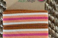 Albstoffe Stripe me Plain Stiches College Col. 62