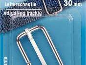 Prym Leiterschnalle silberfarbig 30mm