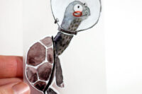 Halfbird Bügelbild Schildkröte