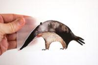 Halfbird Bügelbild Ameisenbär