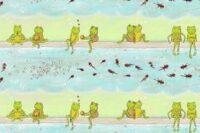 Lillestoff Froschliebe Webware