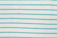 Katia Fabrics Stripes aqua Frottee