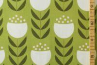 Die kleine Stoffmaus Happy Tulips green Jersey