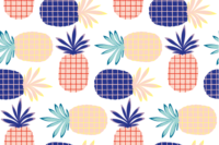 Lillestoff Ananas Party