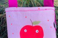 Laufradtäschchen Apfel