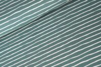 Stoffonkel Good Vibes staubgrün Jersey