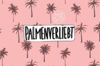Lillestoff Palmenverliebt