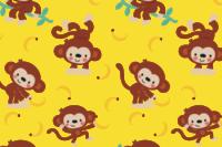 Lillestoff Monkey Love