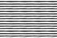 Lillestoff Black Bloom Stripe