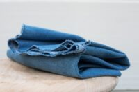 Mind the maker Washed denim mid blue 12,5OZ