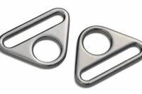 Prym Triangel Ringe mit Steg Gunmetal 30mm