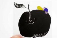 Halfbird Bügelbilder Apfel