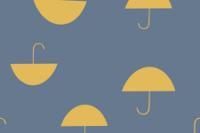 Katia Fabrics Umbrella Turmalin blue French Terry