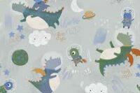 Katia Fabrics Astro Pals Softshell