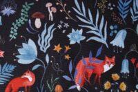 Katia Fabrics Dark Forest Softshell