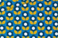 byGraziela Sommersweat Blumenliebe blau