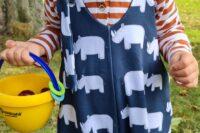 Miss Alexis Eigenproduktion Familie Nashorn nachtblau