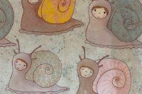 Lillestoff Schneckenkinder